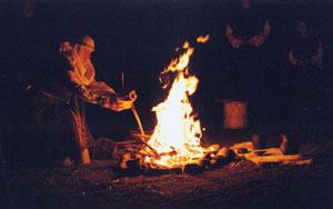 Проведения ритуала огня